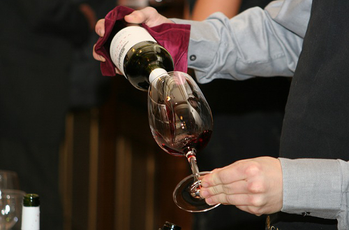 Dégustation d'un vin