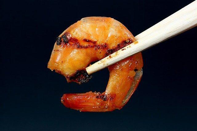 Crevette plancha