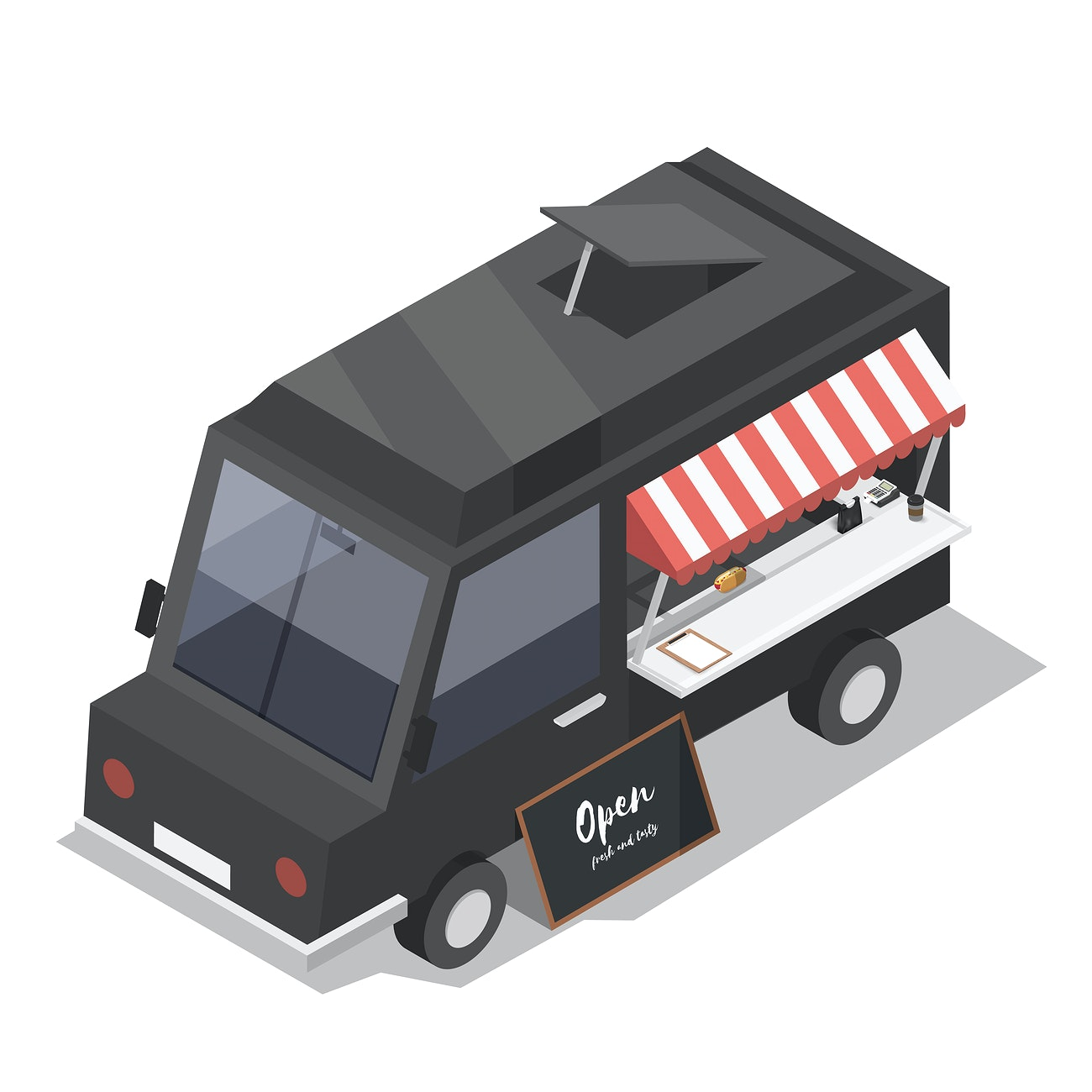 Food truck privé