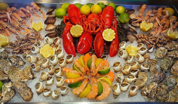 Un restaurant de fruits de mer à Clermont-Fd
