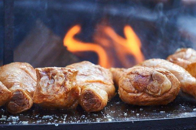 Cuisses de poulet barbecue